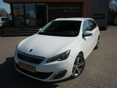 używany Peugeot 308 SW 2dm 150KM 2015r. 135 856km