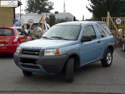 używany Land Rover Freelander 2.0 2000r. ABS ręczna klima.