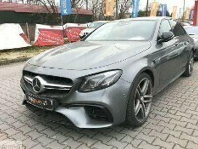 używany Mercedes S63 AMG Klasa E W213 63 AMG E4 Matic+ 612 KM*Kamera*Skóra Nappa*Exclusive*Panorama*