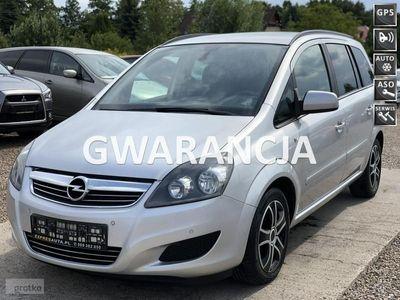 używany Opel Zafira 1.7dm 110KM 2012r. 199 000km