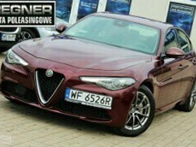 używany Alfa Romeo Giulia 2.0 Turbo Automat SalonPL FV23% 1WŁ Tempomat Gwarancja