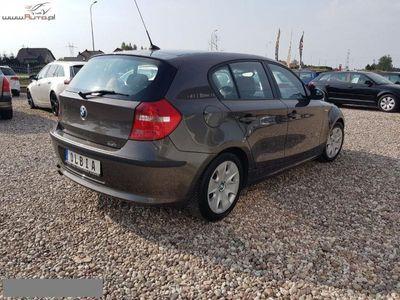 używany BMW 118 seria 1 2dm3 143KM 2007r. 217 030km d 143KM Klimatronik Zadbana!