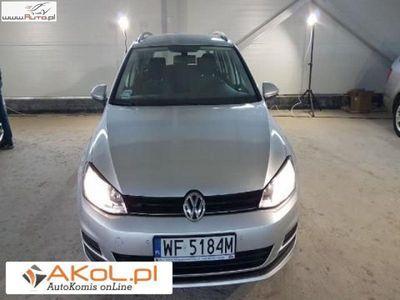 używany VW Golf 1.6dm3 105KM 2015r. 123 000km Salon Polska VAT Serwis