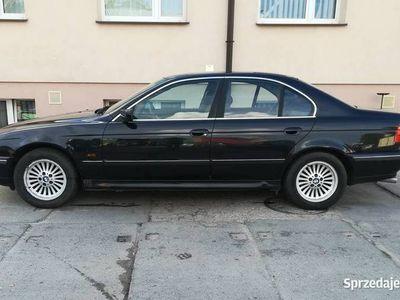 używany BMW 528 E39 i z gazem LPG skóra cosmoschwartz