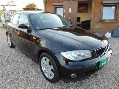 używany BMW 116 1.6dm3 115KM 2006r. 76 000km Mały Przebieg Klima