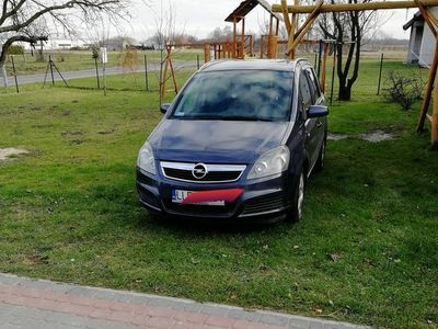 używany Opel Zafira B benzyna-gaz