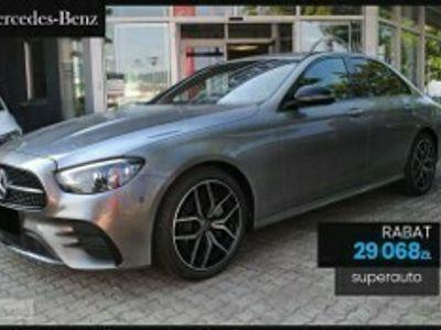 używany Mercedes E200 Klasa4-Matic AMG (197KM) | Podgrzewane Fotele + Parktronic