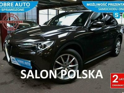 używany Alfa Romeo Stelvio 2.0 280KM 4x4 Automat, Executive, Skóra, Martwe Pole,Navi,23%
