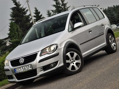 używany VW Touran Cross 1.9 TOURAN 1.9 TDI 105 KM !! Klimatyzacja, ALU, Zarejestrowany ! ręczna klima.