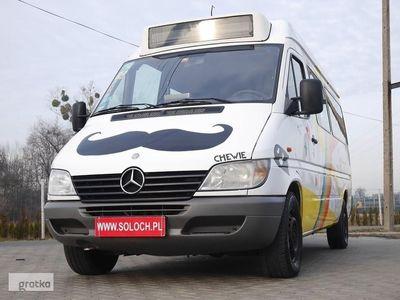 używany Mercedes Sprinter 903 213 2.2CDI 129KM 9 Osób Automat Autobus -BUS -FILM VIDEO -Zobacz, Goczałkowice-Zdrój