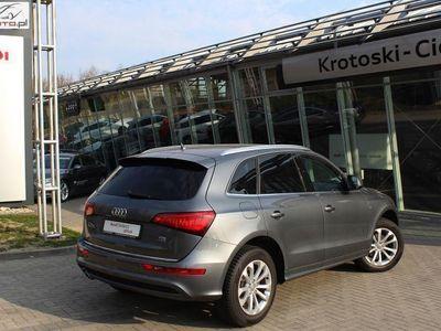 używany Audi Q5 2dm3 190KM 2015r. 86 490km quattro 2.0 TDI 190 KM S-Tronic Salon Pl. FV