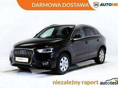 używany Audi Q3 DARMOWA DOSTAWA, 4x4, 177KM, Automat, Xenon, Navi, Półskóra (2014-2018)