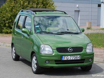 używany Opel Agila 1.2i Panorama Dach Klima Uszkodzona Uszczelka Gło