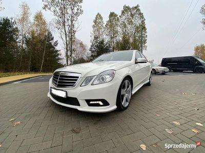 używany Mercedes E350 benzyna AMG