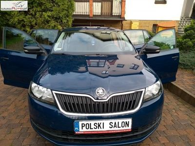 brugt Skoda Rapid 1.2dm3 90KM 2017r. 48 000km Salon PL Auto jak nowe 1.2 TSI 90 KM GAZ
