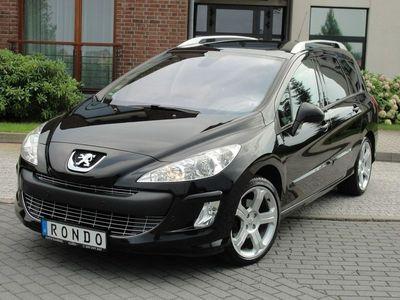 używany Peugeot 308 I SW Platinum Sport 2.0HDI 140KM Navi Panorama Serwis ASO