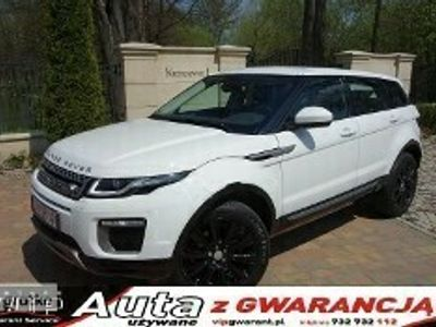 używany Land Rover Range Rover evoque Krzyszkowice