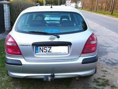 używany Nissan Almera ważne oplaty hak wbity w dowód