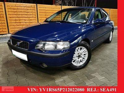 używany Volvo S60 I 2.4 BENZYNA 140 KM * bezowe polskory * manual * serwisowany * wawa, Warszawa