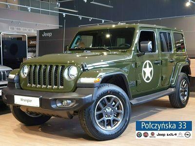 używany Jeep Wrangler 2dm 272KM 2021r. 5km