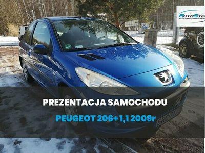 używany Peugeot 206+ 1,1 benzyna 2009r - 10 900zł