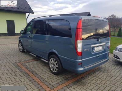 gebraucht Mercedes Viano 3dm3 204KM 2007r. 218 800km 3.0 204 KM 6 osobowy Automat
