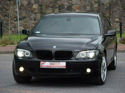 używany BMW 750 4.8dm 367KM 2006r. 282 000km