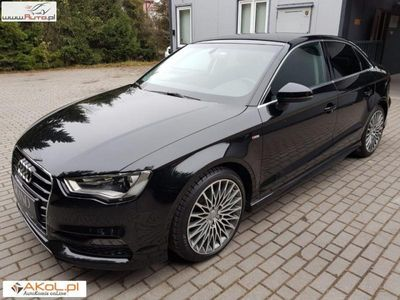 używany Audi A3 1.4dm3 150KM 2015r. 29 800km S Line Salon PL Faktura