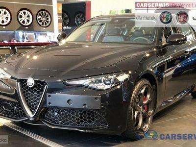 używany Alfa Romeo Giulia Veloce 2.0 280 KM | Czarny Vesuvio| Tempomat adaptacyjny