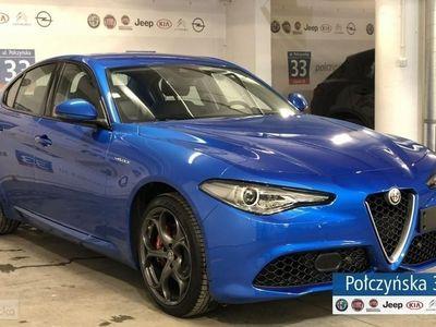 używany Alfa Romeo Giulia Veloce 2.0 280 KM   Niebieski MISANO / Czarna skóra   Carplay/Androi
