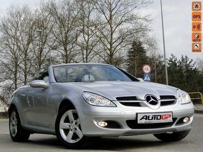 używany Mercedes SLK200 1.8dm 165KM 2007r. 54 000km