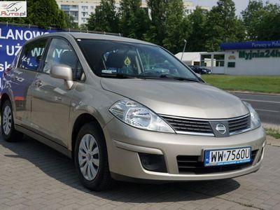 używany Nissan Tiida 1.6dm 110KM 2010r. 128 000km
