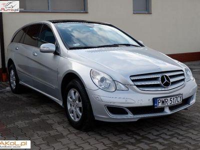 usado Mercedes 320 klasa R 3dm3 224KM 2006r. 183 000kmCDI 224PS Long Bogate wyposażenie