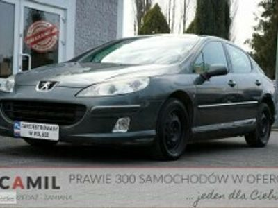 używany Peugeot 407 1.6dm 109KM 2008r. 182 000km