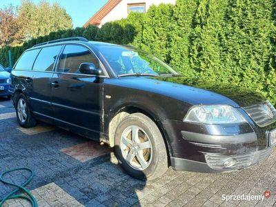 używany VW Passat 1.9 tdi 130 koni xenon skóra full przetarty bok