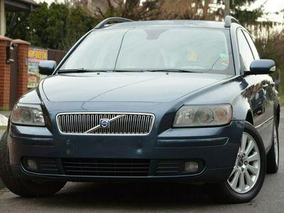 używany Volvo V50 Opłacone 2.4i 140KM Momentum Pamięci Skóra Gwarancja I (2004-2007)