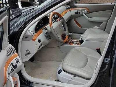 używany Mercedes S500 w220lpg zadbany serwisowny bez rdzy