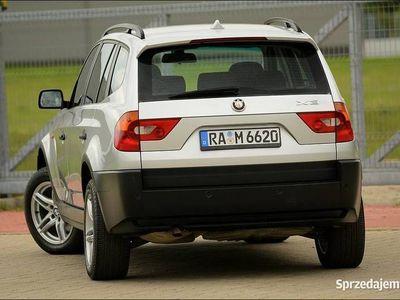 używany BMW X3 E832.0d 150KM 4X4 * MEGA STAN * F-VAT *