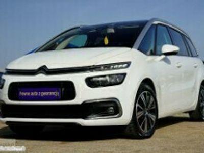 używany Citroën Grand C4 Picasso II NAWI alusy SAM PARKUJE kamera PANORAMA 7 foteli klimatronik VAT 23%