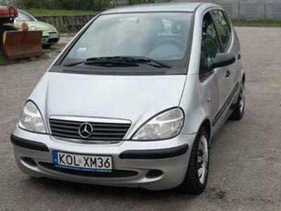 używany Mercedes A140 long klima 2002rok