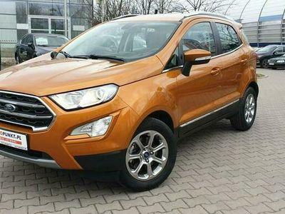 używany Ford Ecosport Titanium 1.0 125KM EcoBoost, FV 23%