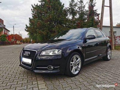 używany Audi A3 Sportback 2,0 TDI 140KM S-tronic S-line Sportpakiet