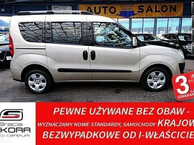 używany Fiat Doblò II GWARANCJA I-wł Kraj Bezwypadkowy ASO 1.6 105KM FV vat 23%