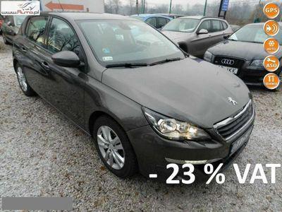 używany Peugeot 308 1.6dm3 120KM 2014r. 94 000km Klimatronik Nawigacja Vat 23%