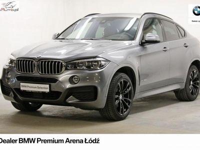 używany BMW X6 3dm3 313KM 2017r. 25 303km 40d xD Mpakiet SalonPL 1wł PrzejęcieLeasingu Dealer