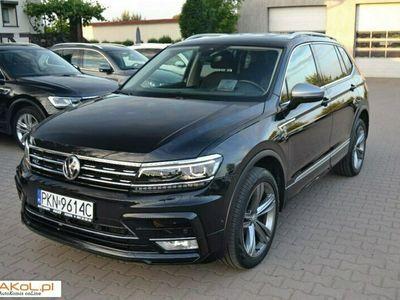 używany VW Tiguan Allspace 2dm 190KM 2017r. 110 000km
