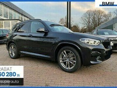 używany BMW X3 G01 2.0 xDrive20d (190KM) | M SPORT | + Live Cockpit + Shadow Line