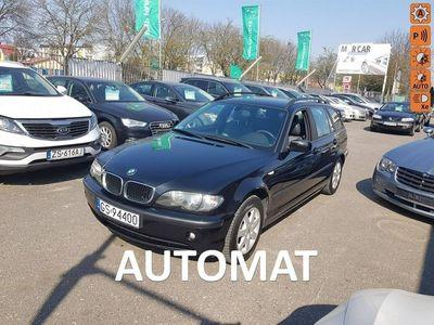 używany BMW 318 2dm3 115KM 2003r. 282 548km 2.0 DIESEL 115 KM, Klima, Alufelgi, Grzane fotele, Isofix, Automat,