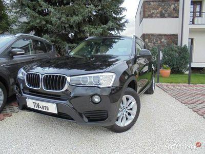 używany BMW X3 sDrive18d NAVI Kamera Salon BEZWYPADKOWY Service Inclusive F Vat23% F25 (2010-)