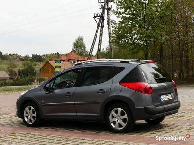 używany Peugeot 207 Outdoor 1,6 HDI 90KM SW Podwyższona wersja